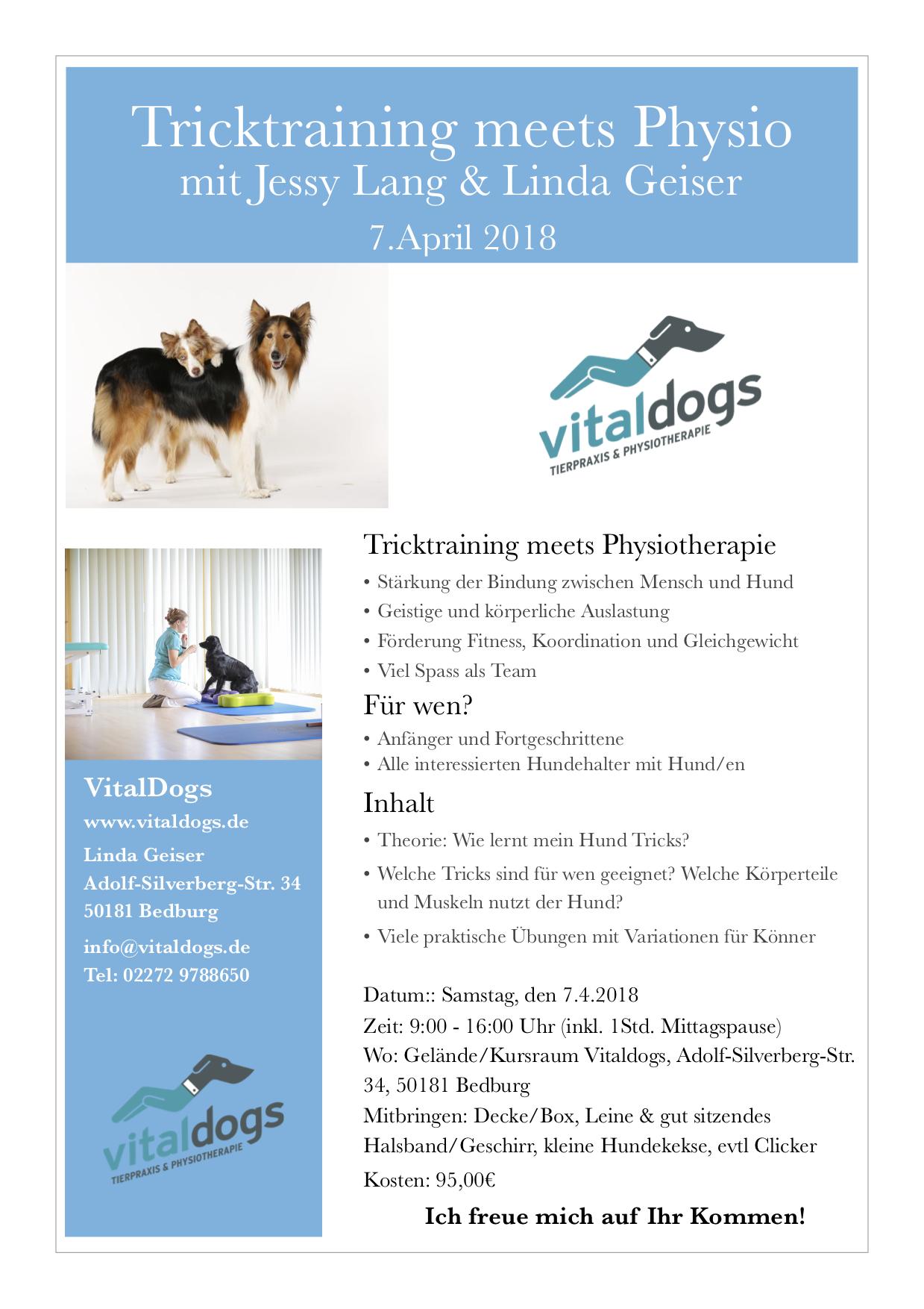 Trickdogs & Hundephysio